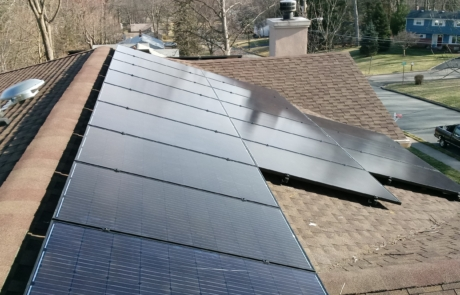 Solar Panels on Home in NJ