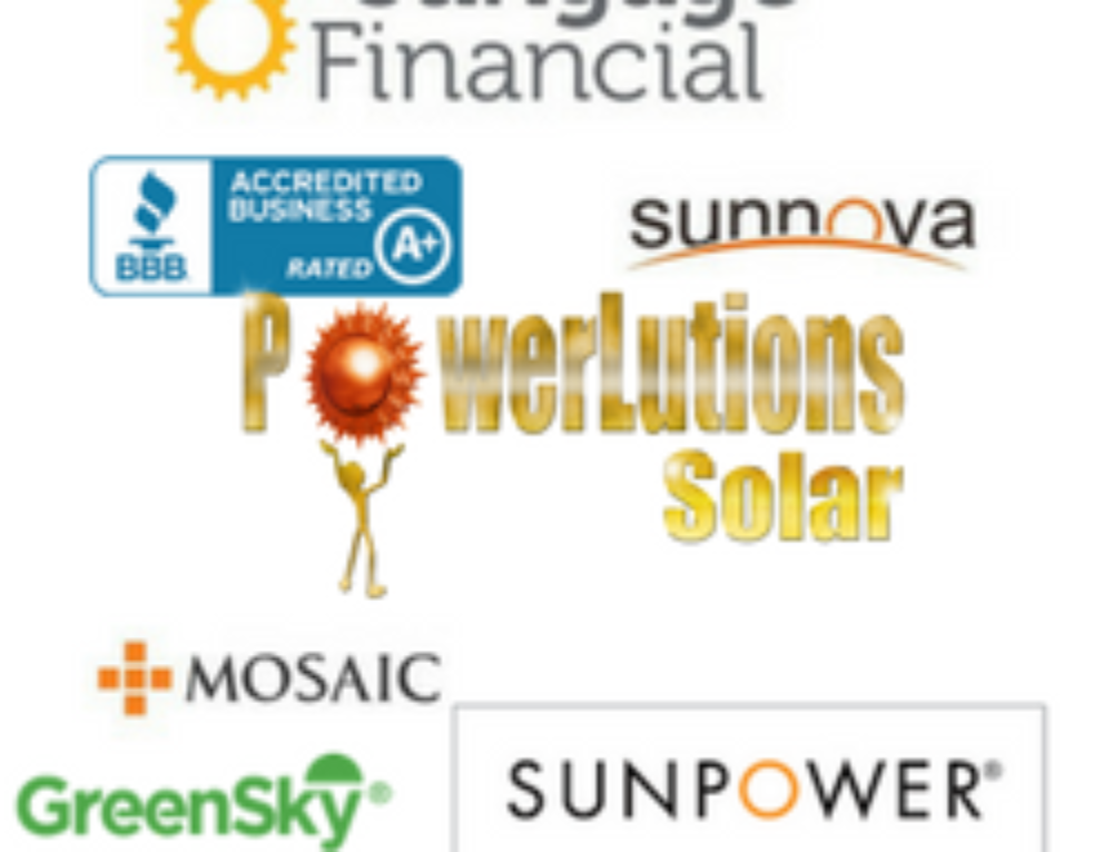 Some Of Our Solar Financial Partners: Sunpower, Sunnova, Sungage and More