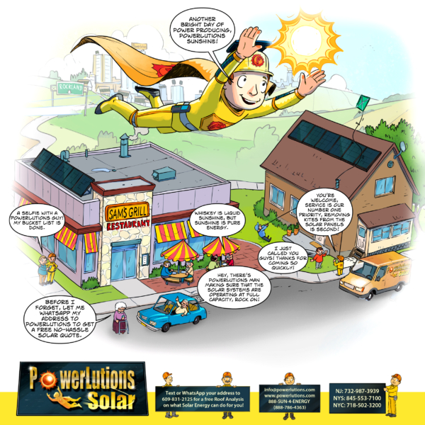 Experience super solar service with PowerLutions Solar.